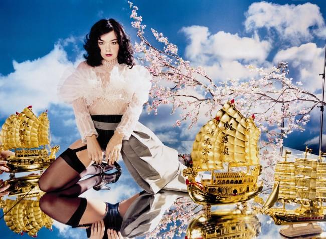 David LaChapelle, Björk