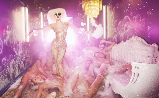 David LaChapelle, Lady Gaga Pink Room