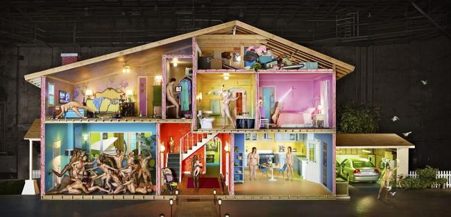 David LaChapelle, Self Portrait As House (2013)