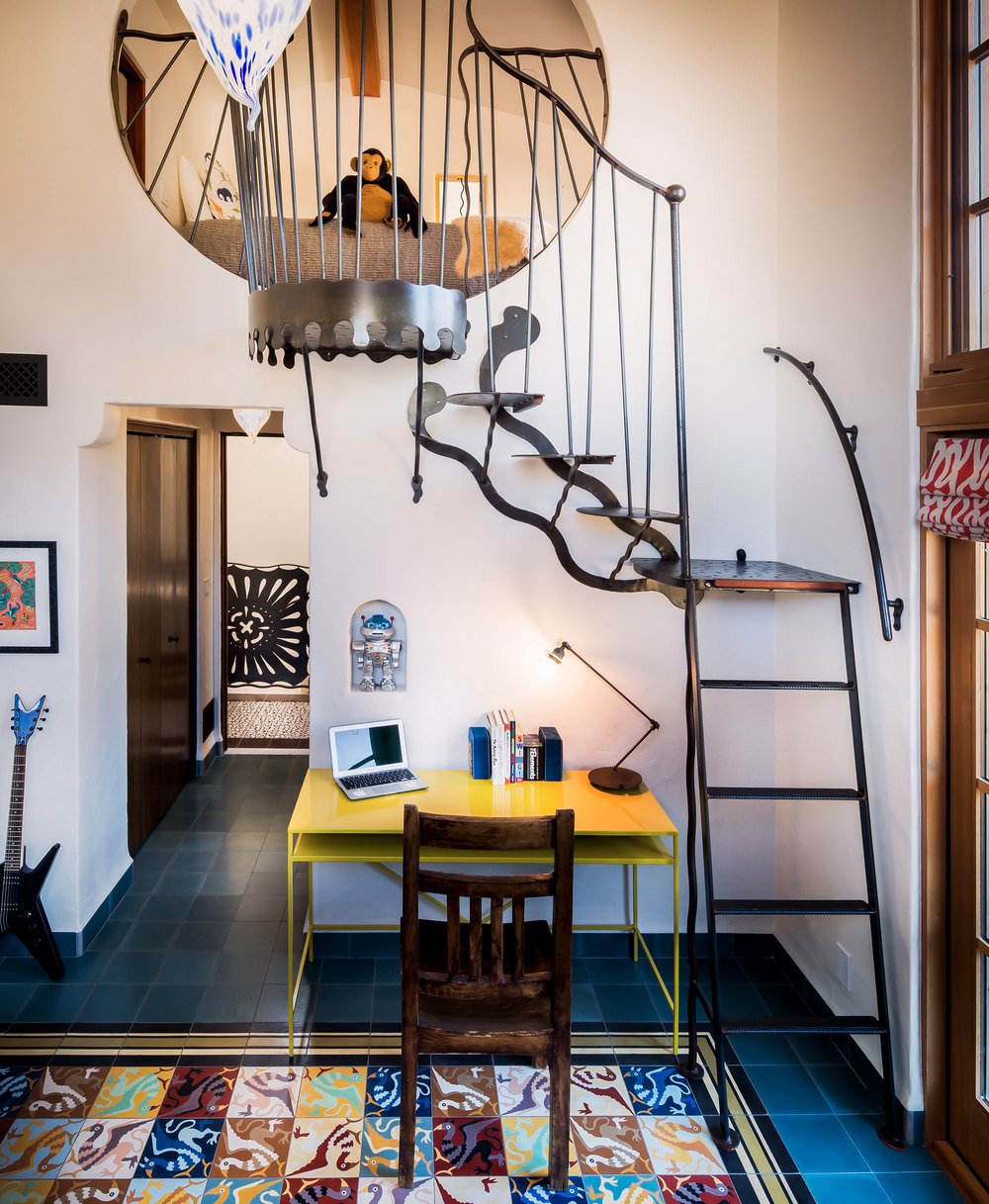Jeff Shelton, La Roca Interior design workspace