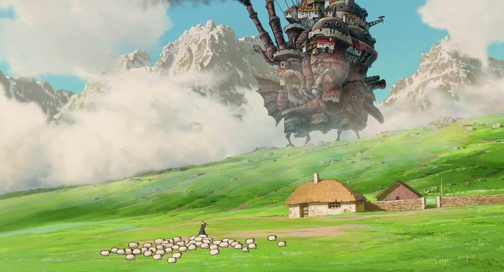 Hayao Miyazaki, Il castello errante di Howl. Scena del film