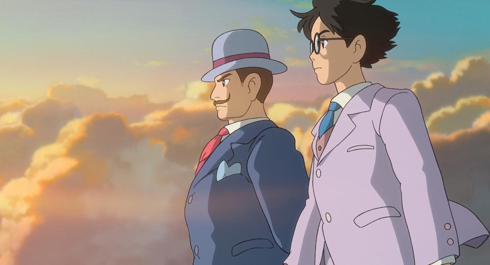 Hayao Miyazaki, Si alza il vento. Scena del film