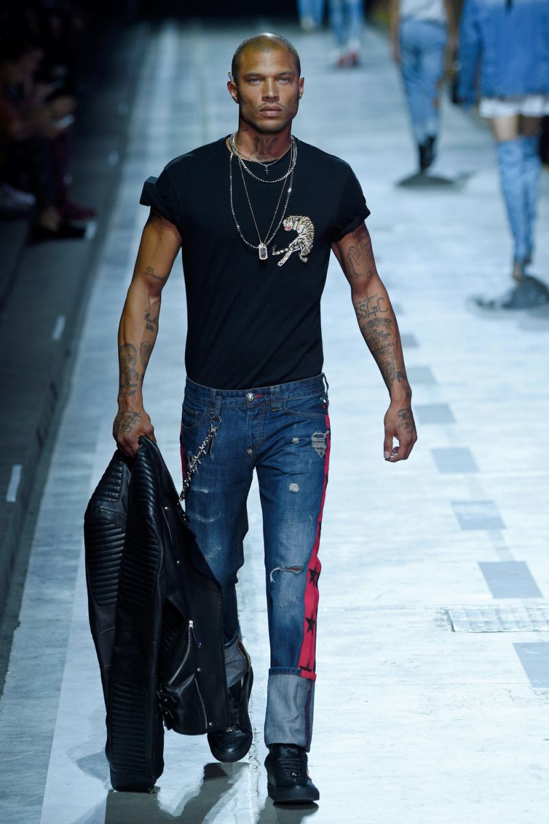 Jeremy Meeks, Milano Fashion Week