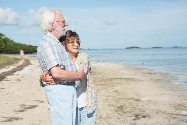 Ella & John (The Leisure seeker) (2017), film di Paolo Virzì. Donald Sutherland e Helen Mirren in una scena del film