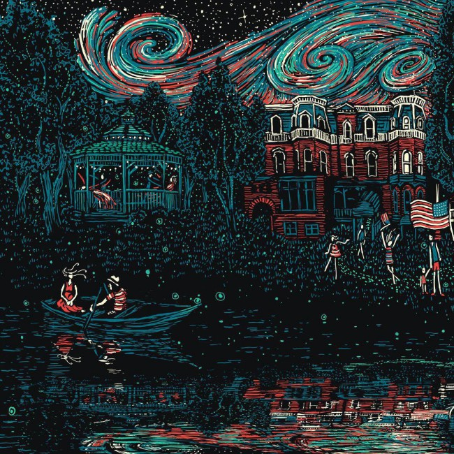 James R. Eads, Here is the Light we Stole from Spa State Park, Dave Matthews Band (Saratoga Spring, NY)