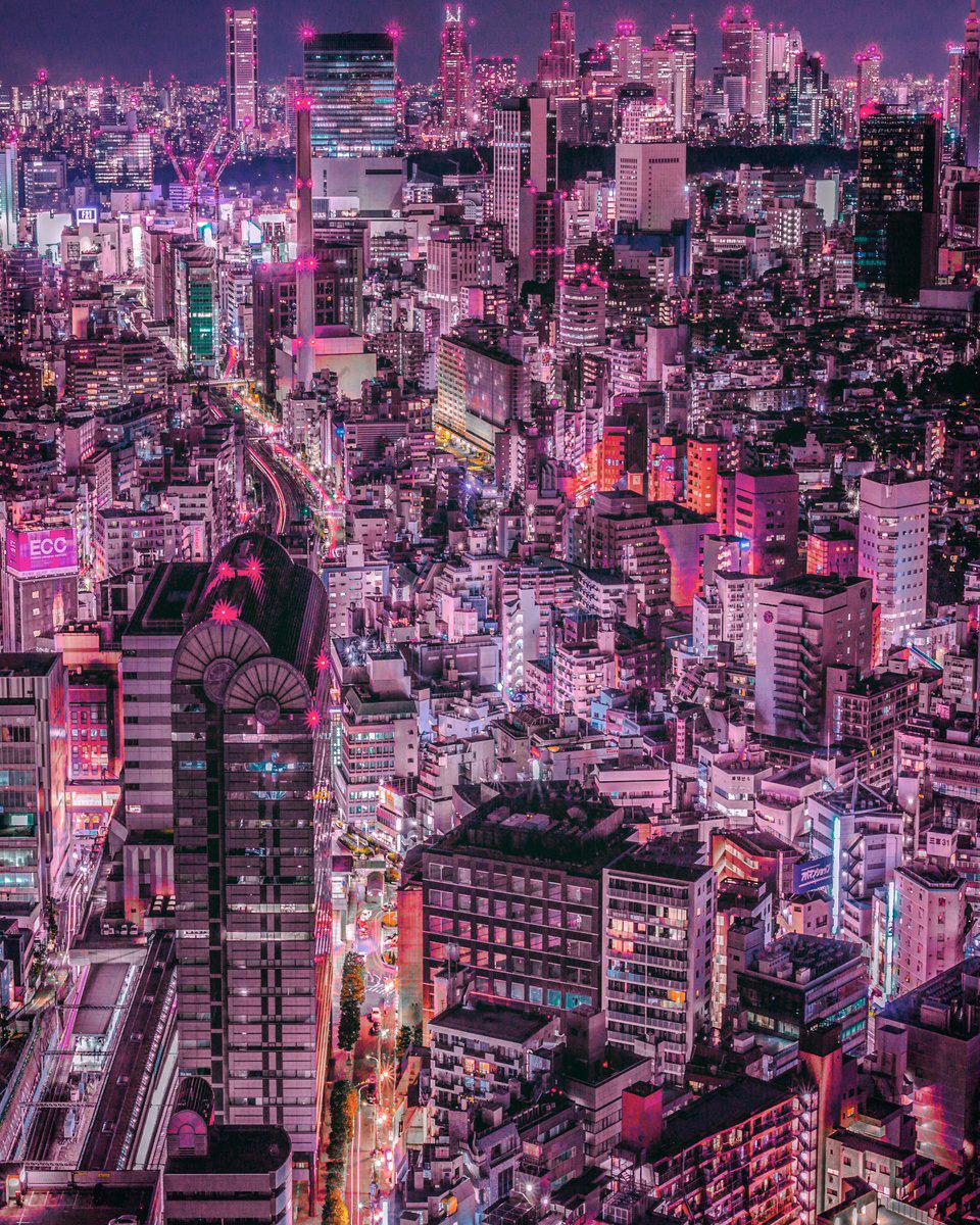 © Yoshito Hasaka, Dynamism