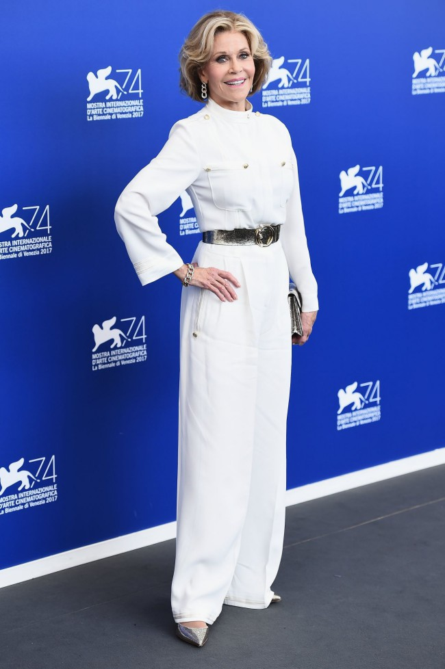 Jane Fonda in Alberta Ferretti
