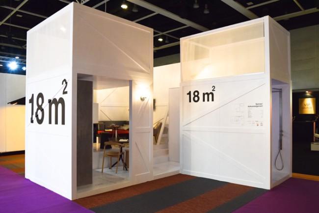 Mini appartamenti di 18 mq minimal estremo o estremamente for Appartamenti design
