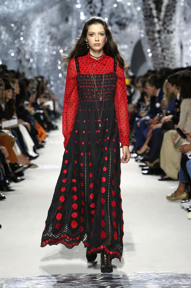 Dior, Paris Fashion Week Primavera-Estate 2018