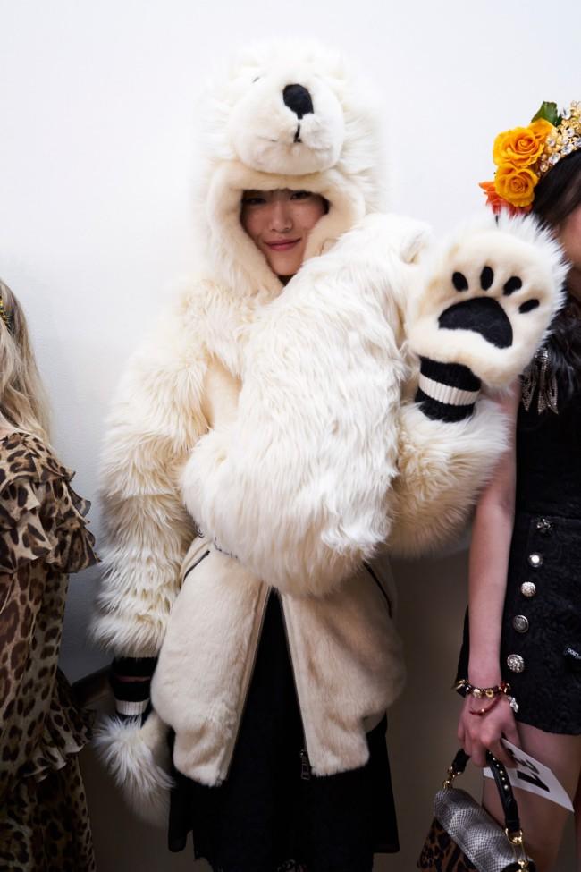Dolce & Gabbana, Fashion Show backstage.