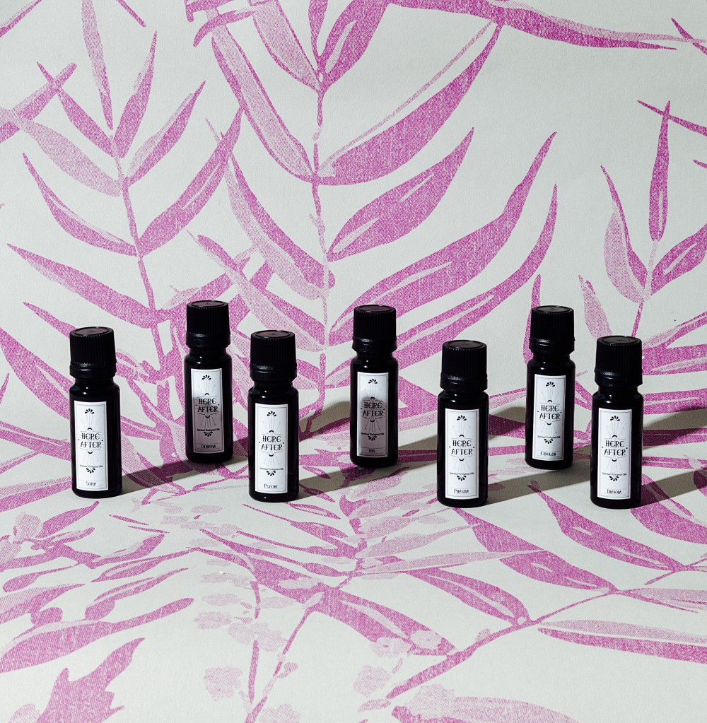 HERE AFTER, Beauty Oils limited edition by Alice Manfroni