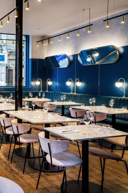 Ristorante Clerkenwell Grind (London, UK) Biasol Design Studio