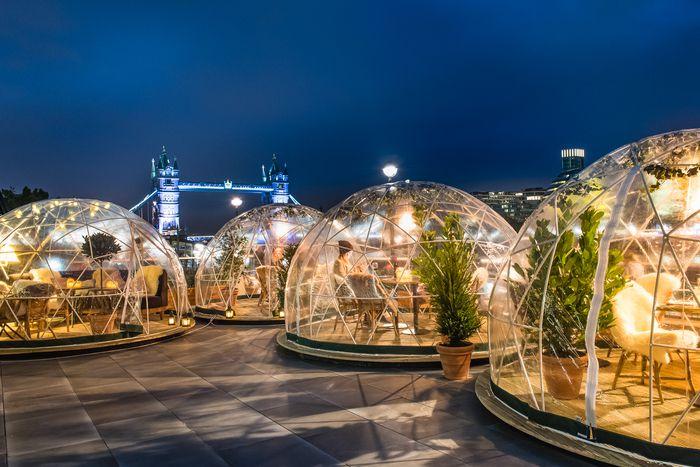 Ristorante Coppa Club (London, UK) Inhouse Design