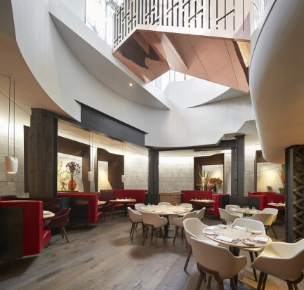 Ristorante Hotel Eneko (London, UK) Casson Mann