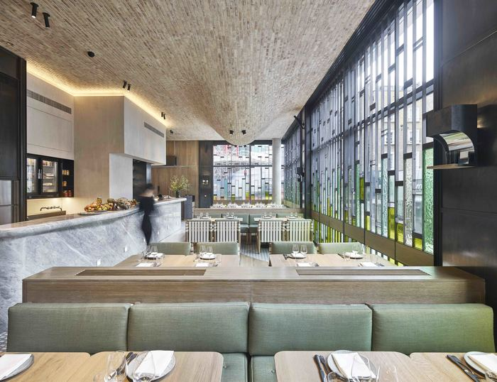 Ristorante Fucina (London, UK) Andy Martin Architecture
