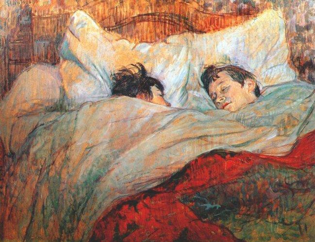 Henri de Toulouse-Lautrec a letto, mostra Milano