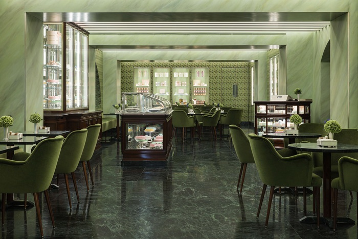 Pasticceria Marchesi (Milan, Italy) Design Office, Prada Retail Engineering I