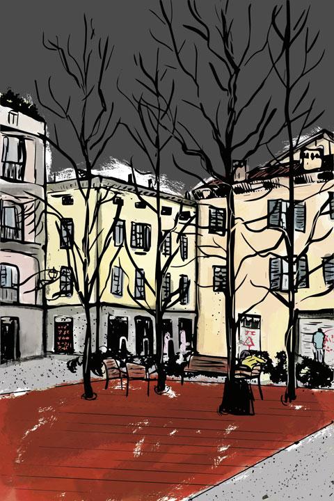 Angelo Montanari, Reggio Emilia Gotic