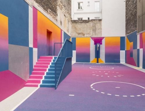 Arte e sport: un binomio fluo a Parigi