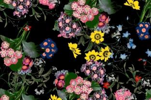 Collezione Erdem X H&M. Tripudio di fiori e romanticismo