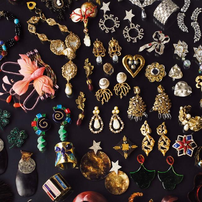 Ensemble de bijoux des collections haute couture