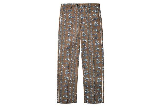 Collezione Erdem X H&M. Pantaloni a fiori