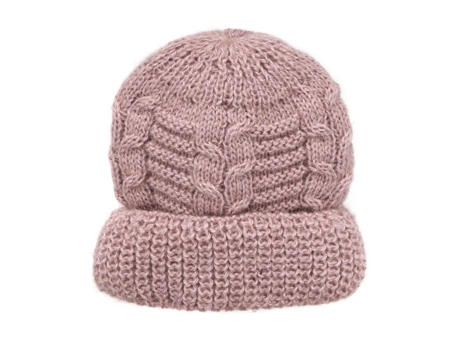 Leontine Vintage Fall Winter 17. Nonna Beanie, misto lana rosa