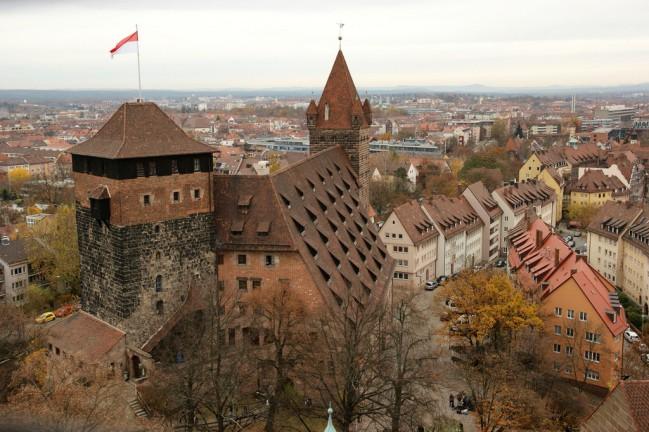 Castello di Norimberga, il Kaiserburg