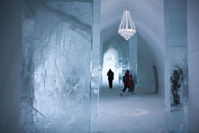 Oguzhan Erim, Kiruna. Interno dell'ICEHOTEL di Jukkasjärvi