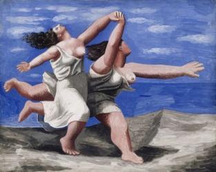 Pablo Picasso, Deux femmes courant sur la plage (La course)