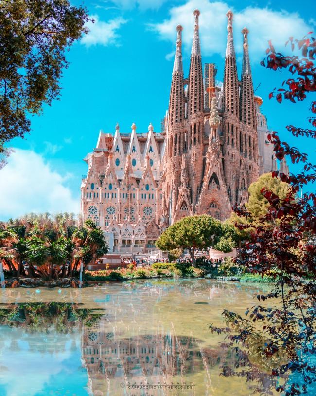 Fotografia di Sara Pagano, Barcellona, Sagrada Familia