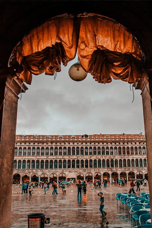 Fotografia di Sara Pagano, Piazza San Marco