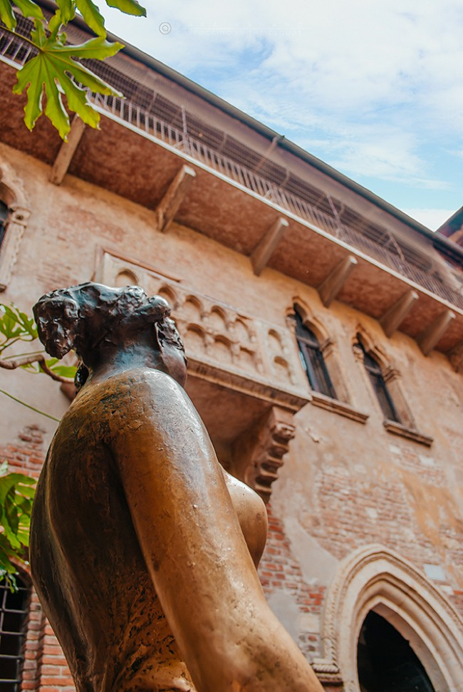 Fotografia di Sara Pagano, casa di Giulietta a Verona