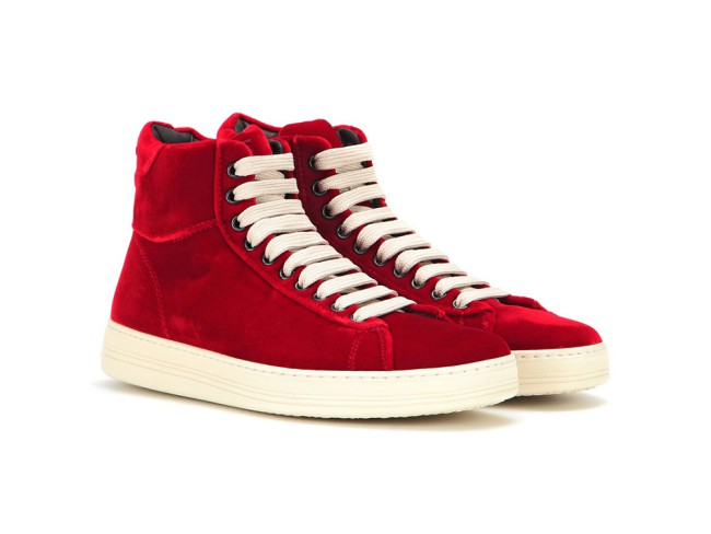 Tom Ford sneakers in velluto