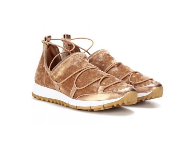 Jimmy Choo sneakers in velluto