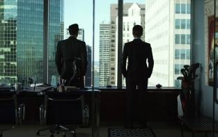 Suits serie TV legal drama con avvocati. Gabriel Macht e Patrick J. Adams