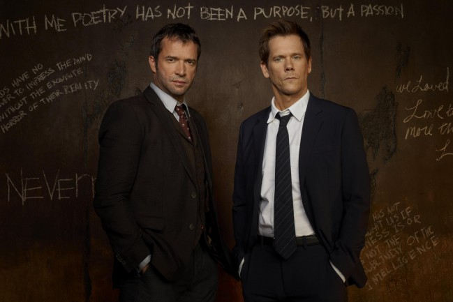 The following, serie TV crime da vedere su Netflix. Kevin Bacon e James Purefoy nei panni di Ryan Hardy e Joe Carroll
