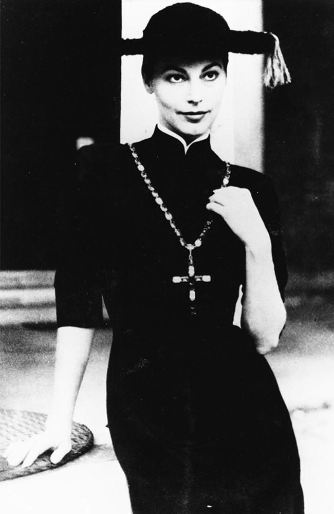 "Sorelle Fontana ""Pretino"" indossato da Ava Gardner"