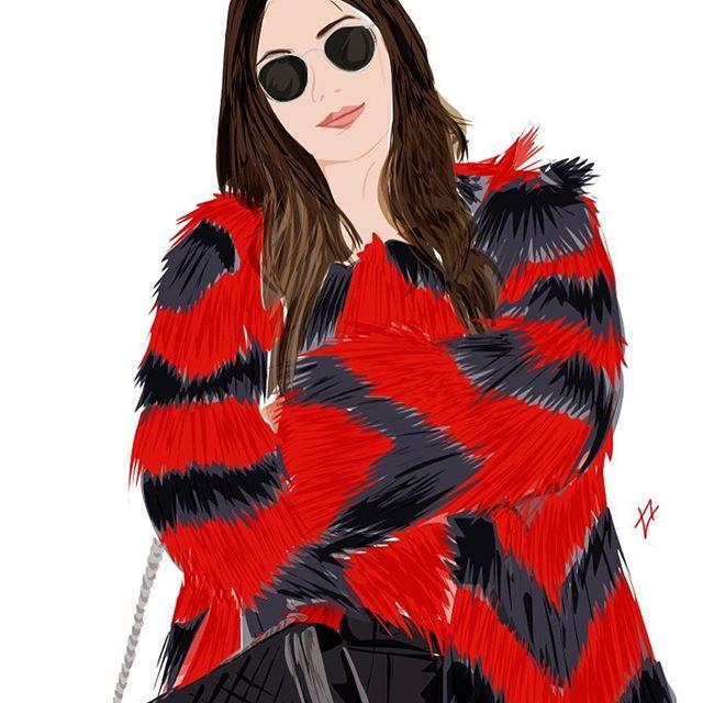 alisa_maw, illustratrice di moda e graphic designer