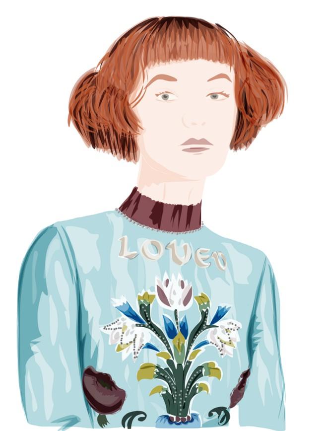 alisa_maw, Modern Medieval. Illustrazione fashion e graphic designer