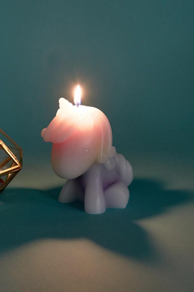 Candela unicorno Fizz Creations