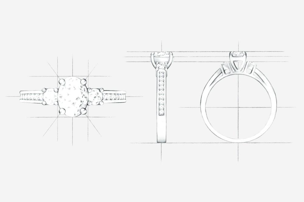 Create, il portale per la personalizzazione e la creazione di anelli di fidanzamento e fedi nuziali su misura, ideato da Edenly gioielli