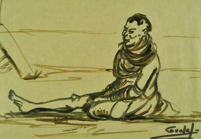 """Imer Guala, Guala africano. A Mantova, la mostra """"Imer Guala. Taccuino di viaggio. Memorie e segni d'Africa 1958"""""""