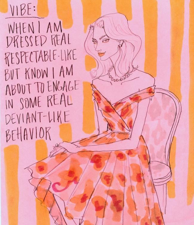 Julie Houts era balzata agli onori delle cronache per un progetto dissacrante sulla fashion week. L'illustratrice e designer torna con Literally me...