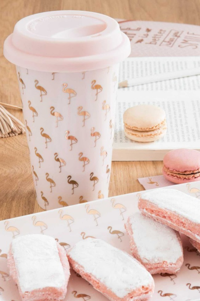 Mug Maisons du Monde. Questa mug dal colore millennial pink è perfetta per un regalo di Natale