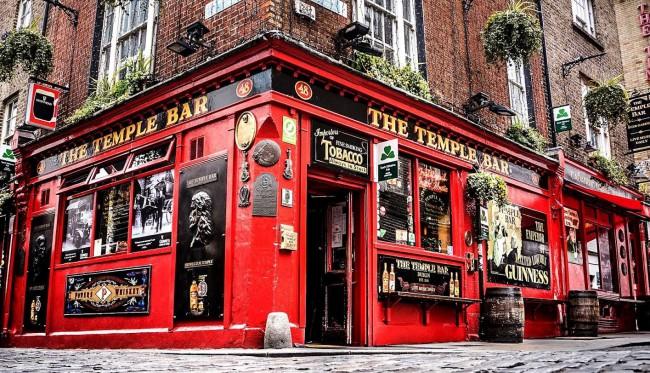 Temple Bar, pub a Dublino, Irlanda. Guida di Dublino: cosa vedere e cosa fare