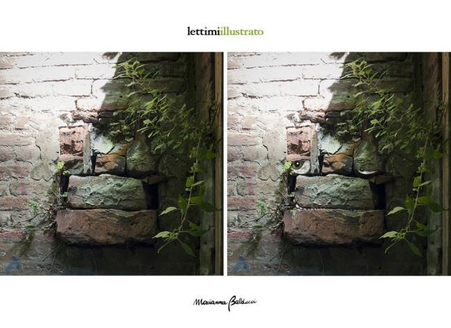 Marianna Balducci, Masticone dal progetto Lettimi Illustrato presentato in occasione del festival teatrale Le città visibili 2016 a Palazzo Lettimi, Rimini