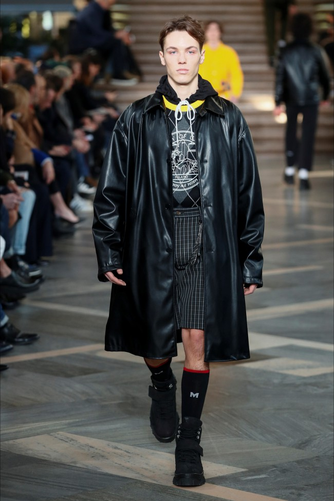 MSGM Fall Winter 18-19 Men, Milano moda uomo