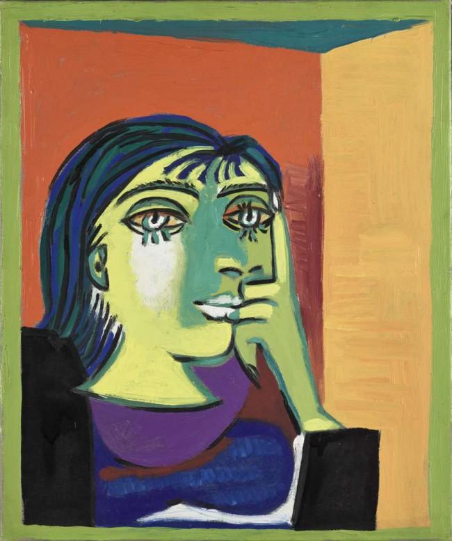 """Pablo Picasso, Portrait de Dora Maar, 1937. La mostra """"Capolavori del museo Picasso, Parigi"""" a Palazzo Ducale, Genova"""