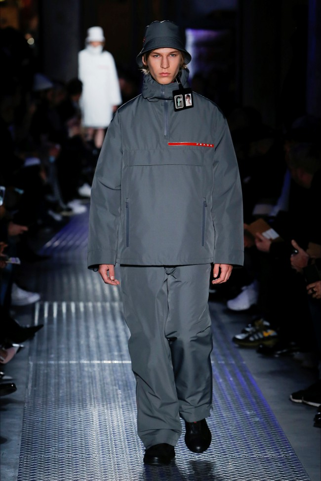 Prada Autunno Inverno 18-19 Uomo, Milano moda uomo